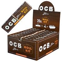 OCB Slim Roll Kit Unbleached + TIPS