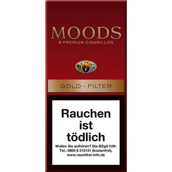 Dannemann Moods Gold - Filter