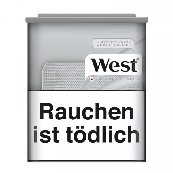 West Silver Volumen Tabak Dose