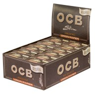 OCB UNBLEACHED ROLLS VIRGIN PAPER