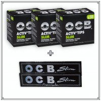 OCB Activ'Tips Slim (7mm) Testpaket