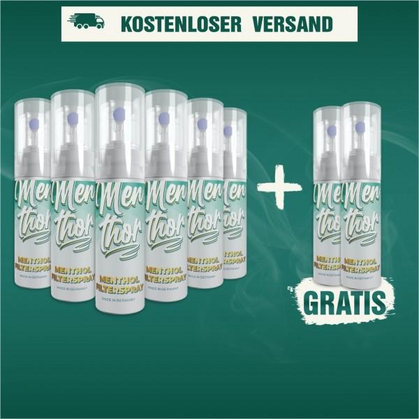 Menthor Menthol Filter Spray Aktion (6+2)