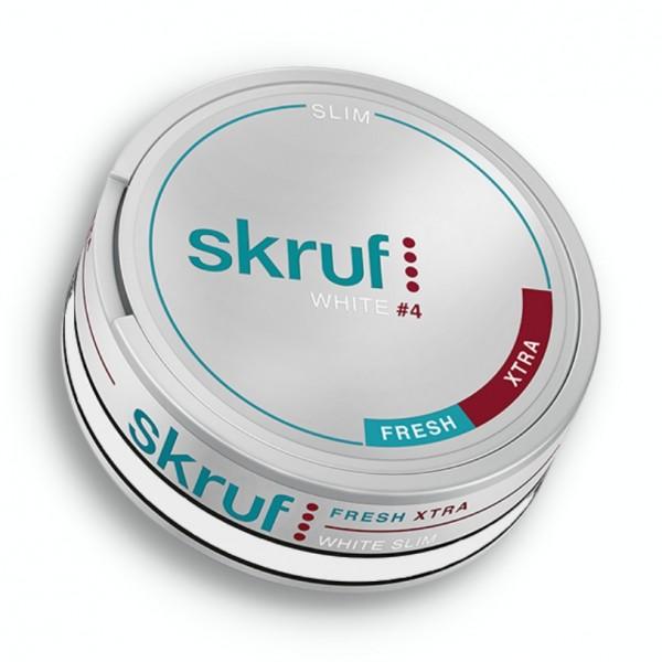 skruf Ice Xtra White #4