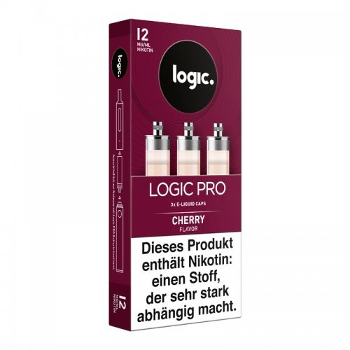 Logic Pro Caps Cherry 12mg